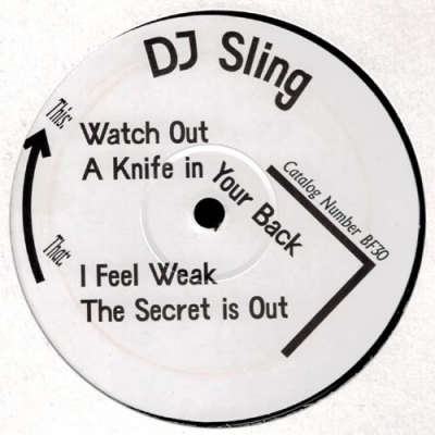 DJ SLINGThe Secret EP