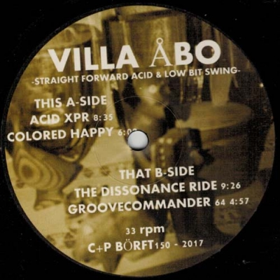 VILLA ÅBOStraight Forward Acid and Low Bit Swing