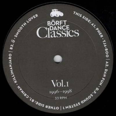 COMPILATIONBörft Dance Classics Vol. 1