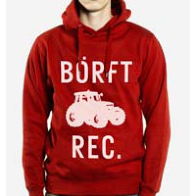 HOODED SWEATSHIRT Börft Rec. New Logo