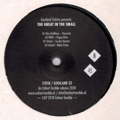 COMPILATIONThe Great In The Small (Gooiland 33)
