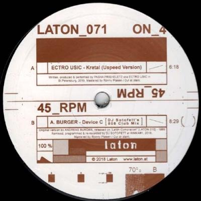 ECTRO USIC / A. BURGERKratal / Device C (DJ Sotofett's808 Club Mix)