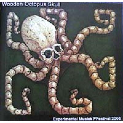 Wooden octopus skull