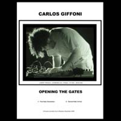 CARLOS GIFFONI Opening the gates