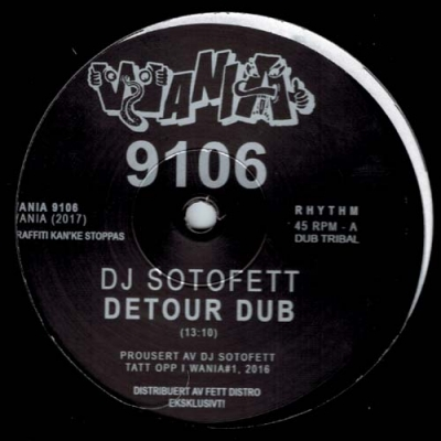 DJ SOTOFETT / VERRA DVALE Feat. Merel LaineDetour Dub / To Want You